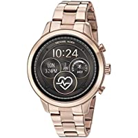 Michael Kors Women's Quartz Smartwatch smart Display and Stainless Steel Strap, MKT5046