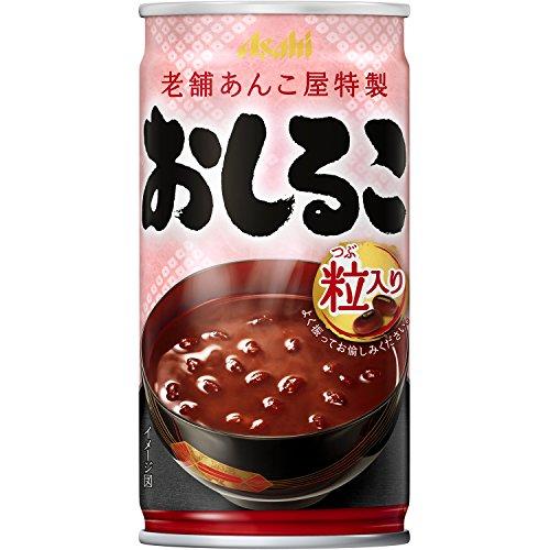 アサヒ飲料 おしるこ 缶 190×30