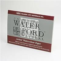 ホルベイン ウォーターフォード水彩紙 ブロック 中紙300g(中厚口) 中目 ナチュラル 12枚とじ 270-913 EB-F4