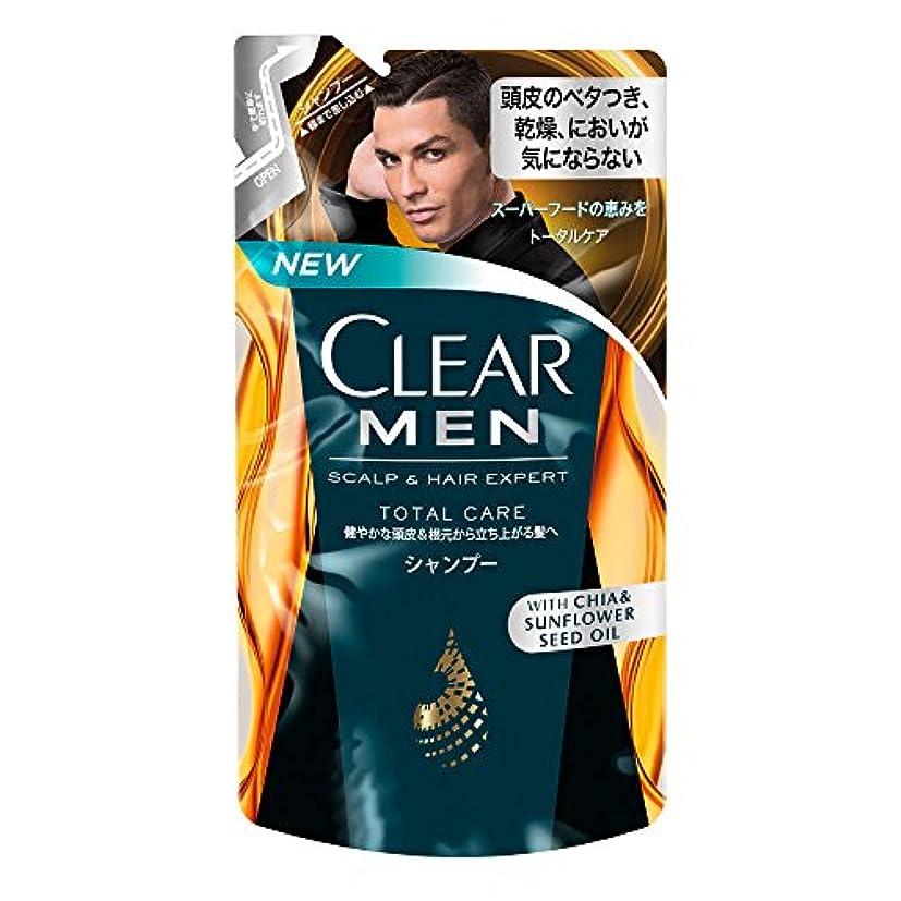 ゴミ記憶に残る優先クリア フォーメン トータルケア 男性用シャンプー つめかえ用 (健やかな頭皮へ) 280g