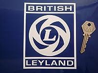 British Leyland Cut Out Square 'L' Logo Sticker カッティングステッカー ステッカー デカール シール 海外限定 100mm×128mm [並行輸入品]