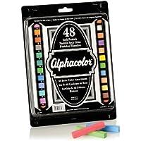 Quartet Alphacolor Soft Square Pastels, Multi-Colored, 48 Pastels per Set (148007) by Quartet [並行輸入品]