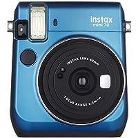 FUJIFILM インスタントカメラ チェキ instax mini 70N ブルー INS MINI 70N BLUE