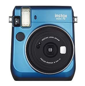 FUJIFILM インスタントカメラ チェキ instax mini70 チェキ(ブルー) INS MINI 70 BLUE