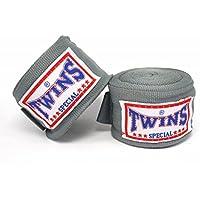 TWINS(ツインズ) バンテージ グレー 伸縮タイプ 2個1セット ムエイタイ ボクシング MMA 格闘技 グローブ