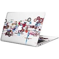 MacBook Pro 13inch 専用スキンシール マックブック 13inch 13インチ Mac Book Pro マックブック プロ ノートブック ノートパソコン カバー ケース フィルム ステッカー アクセサリー 保護 ジャンル クール カラフル 模様 007229