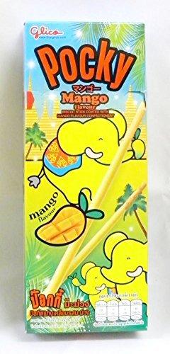 【タイ限定】 ポッキー MANGO マンゴー味 25g [並行輸入品]