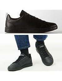 adidas アディダス スニーカー 黒 メンズ レディース VALCLEAN2 バルクリーン2 CMF 通学 ユニセックス カジュアル ランニング シューズ 靴 F99253
