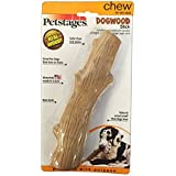 Dogwood Durable Real Wood Dog Chew Toy for Large Dogs, Safe and Durable Chew Toy by Petstages, Large (2 Pack)