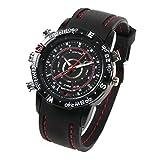 ハッピーマーケット(HAPPYMARKET) 腕時計型防水デジタルビデオ&カメラ 【8GB内蔵】 高解像度1280×1024 (録画、防犯、証拠撮影) 日本語説明書付き