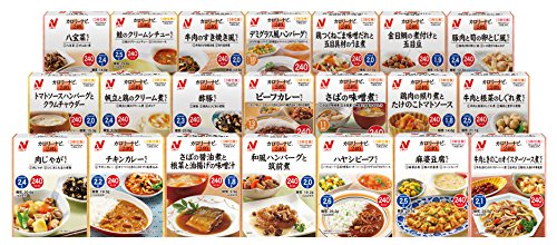 (おまけ付)ニチレイ カロリーナビ240 21食セット