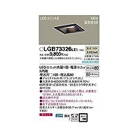 CT72155 LEDダウンライト60形拡散黒枠 温白色