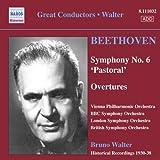 ベートーヴェン:交響曲第6番「田園」/序曲集(ワルター)(1930 - 1938)