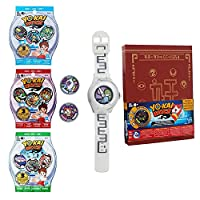 Yo-kai Watch Collectors Set - Watch Medallion Collection Book Season 1 2 and 3 Extra Blind Bags With 3 Mystery Medallions [並行輸入品]