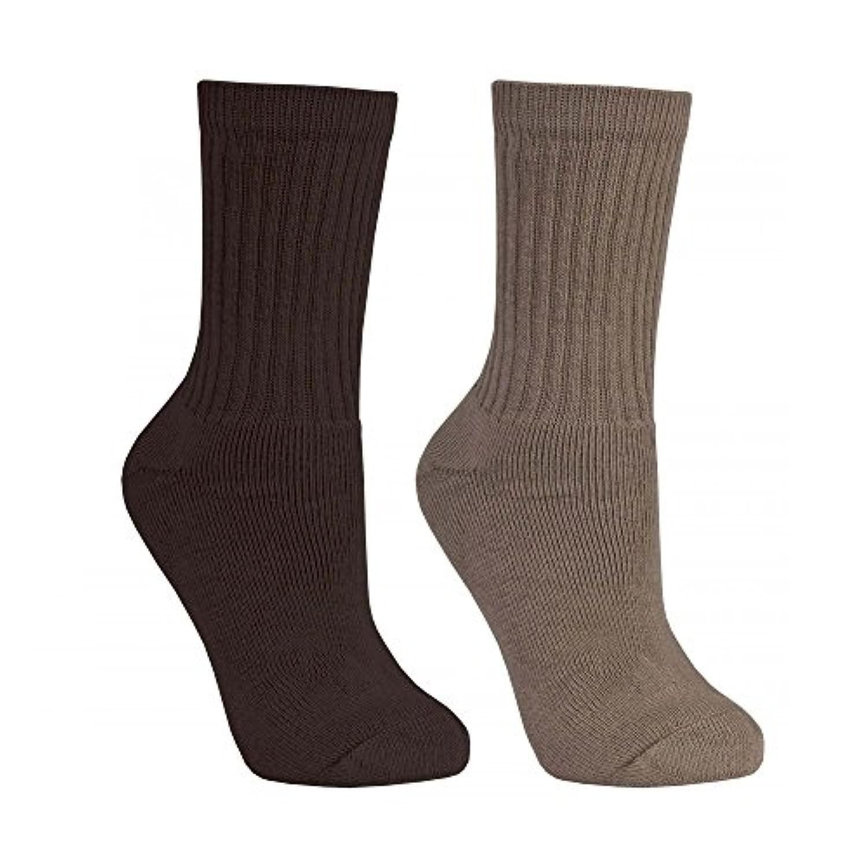 (トレスパス) Trespass メンズ ピラーズ カジュアル クルーソックス 紳士ソックス 靴下セット (2足組) 男性用
