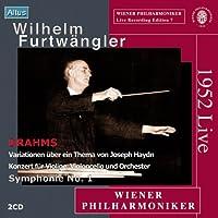 ブラームス:交響曲第1番  ほか (2CD)