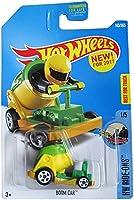 Hot Wheels 2017 HW Ride-Ons Boom Car (Cannon Car) 163/365 Green and Yellow [並行輸入品]