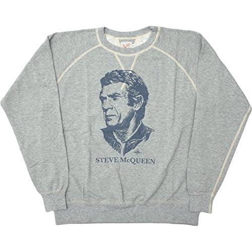 TOYS McCOY #TMC1554 ライトウェイト スウェットシャツ『S.McQUEEN』L021アッシュ