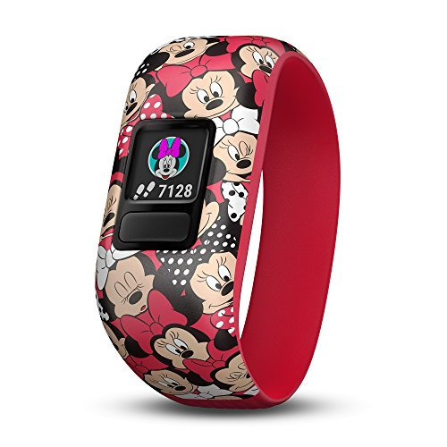 GARMIN(ガーミン) Disney ディズニー キッズ向けアクティブトラッカー vivofit jr.2 ストレッチバンド Minnie Mouse ミニーマウス 【日本正規品】