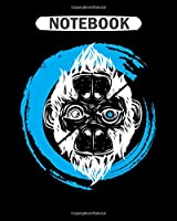 Notebook: scimmia_cambia 3 monkey  College Ruled - 50 sheets, 100 pages - 8 x 10 inches