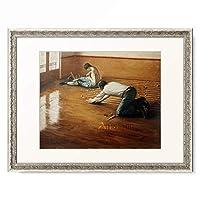 ギュスターヴ・カイユボット Gustave Caillebotte 「Raboteurs de parquets」 額装アート作品