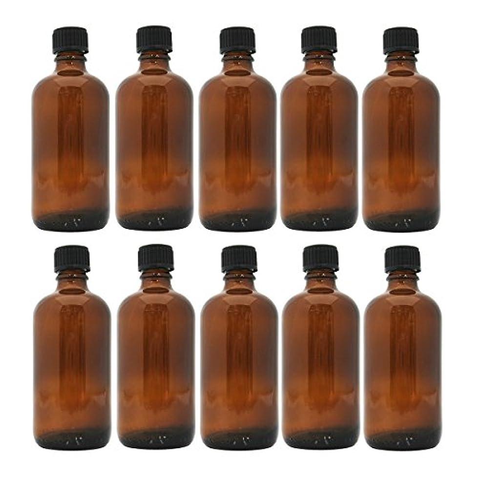 後世規制毛布茶色遮光瓶 100ml (ドロッパー付) 10本セット