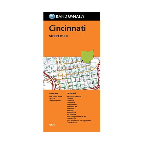 Rand McNally Cincinnati ...の商品画像