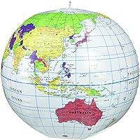 ビーチボール型 地球儀 Inflatable World Globe LER2432