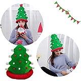 LtrottedJ クリスマスツリー おもしろパーティーハット クリスマスハット ぬいぐるみ コスチューム 衣装 ノベルティトイ