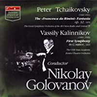 Kalinnikov:Symphony No.1/Tchaikovsky:Francesca da Rimini