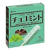 赤城乳業 チョコミント 63mlX7[冷凍]