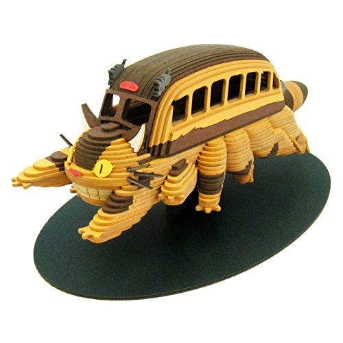 스튜디오 지브리 시리즈 이웃집 토토로 고양이 버스 non스케일 종이공예 MK07-23-MK07-23