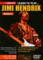 Lick Library: Learn To Play Jimi Hendrix Volume 2 / リック・ライブラリ: ジミ・ヘンドリックスを弾こう ボリューム2 ギターDVD (リージョン0)