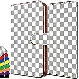 [KEIO ブランド 正規品] GALAXY Note 3 SC-01F ケース 手帳型 チェック SC01F 手帳型ケース チェック柄 GALAXY カバー Note カバー 3 カバー SC-01F チェック ギャラクシー ケース ギャラクシーノート ケース ノート ケース SC01F シンプル カラー ittnチェック柄白灰t0010