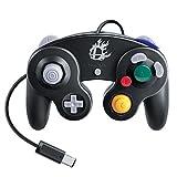 Amazon.co.jpニンテンドーゲームキューブコントローラ スマブラブラック