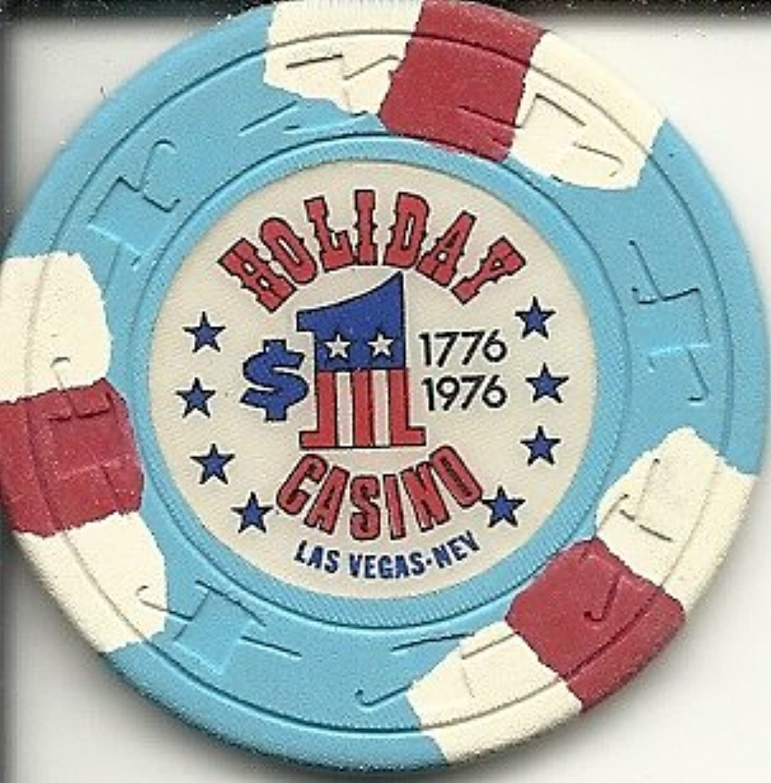 $ 1 Holidayカジノ1776 – 1976 Rare Obsoleteラスベガスカジノチップ