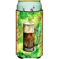 Caroline 's Treasures Irish Beer Mug Tall Boy Beverage Insulator Hugger ,マルチカラー