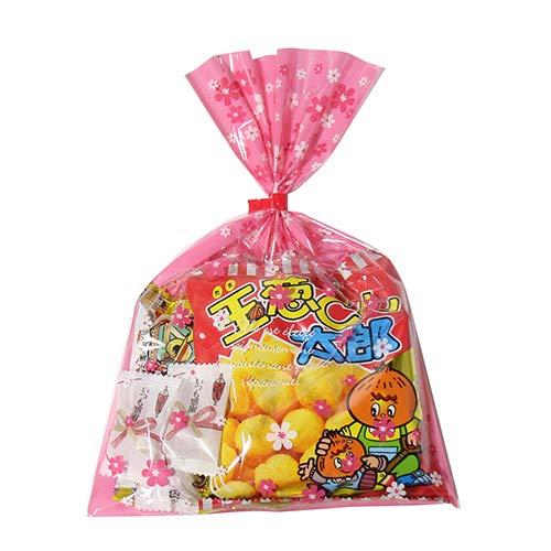 花柄袋 240円 お菓子 チョコレート 詰め合わせ(Eセット) 駄菓子 袋詰め おかしのマーチ