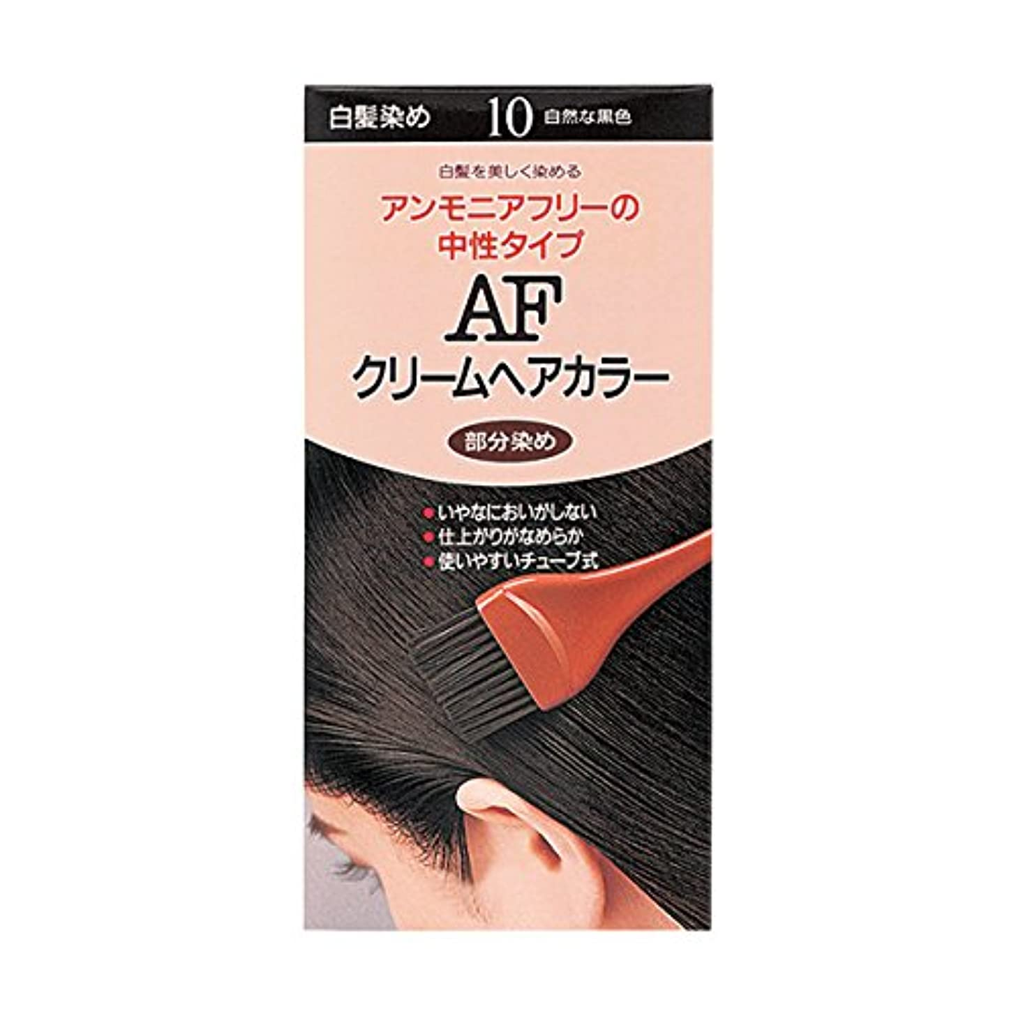 中起きている翻訳者ヘアカラー AFクリームヘアカラー 10 【医薬部外品】