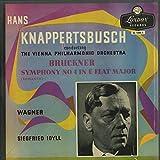 ブルックナー:交響曲4番「ロマンティック」,ワーグナー:ジークフリートの牧歌