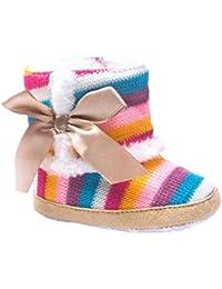 Tonsee ベビーシューズ 超可愛い スノーブーツ 歩行サポート 防寒対策 ベビー ブーツ (11cm)