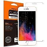 【Spigen】 スマホ ガラスフィルム iPhone8 Plus/iPhone7 Plus 対応 強化ガラス 液晶保護フィルム 高透過率 3DTouch対応 043GL20608 (GLAS.tR SLIM (1枚入))