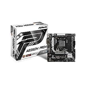 ASRock AMD B350チップセット搭載 ATXマザーボード AB350M Pro4