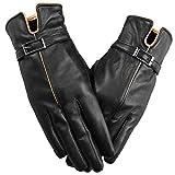 Niksa 手袋 レディース (ファッションのギフト)本革 羊皮 グローブ シープスキン 裏起毛 レディースファッション 冬でも暖かい ギフト用の化粧箱が付き L