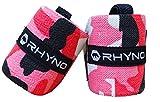 RHYNO(ライノ) リストラップ リストストラップ / トレーニング 筋トレ 手首 の 保護 サポーター / 選べる4色 (ピンク)