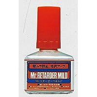 【 Mr.リターダーマイルド 】 40ml Mr.カラー 専用添加剤 cmT105// 乾燥を遅らせ光沢塗装には欠かせません Mr.ホビー