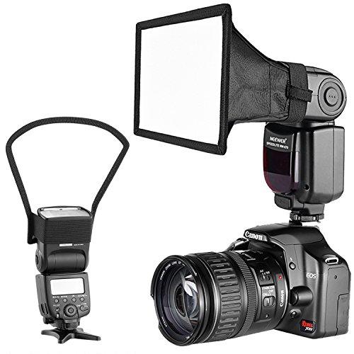 Neewer カメラスピードライトフラッシュソフトボックス ...