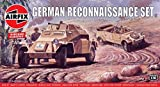 エアフィックス 1/76 ドイツ軍 偵察隊 プラモデル X-2312V