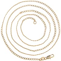 VPbao 2pcs Women Jewellery Link Chain Necklace Set Plated Gold Necklaces