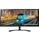 LG モニター ディスプレイ 34UM59-P 34インチ/21:9 ウルトラワイド/IPS非光沢/HDMI×2